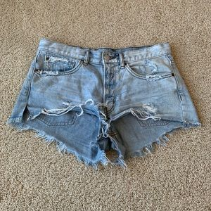Urban Outfitters BDG Distressed Jean Shorts
